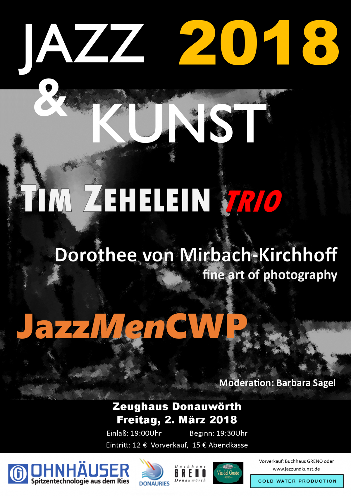 Jazz & Kunst 2018 in Donauwörth